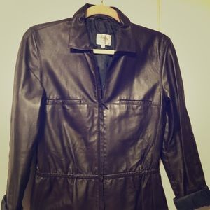 Armani Collezioni soft leather jacket❤️